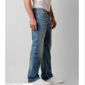 f8bcb899bcc3 Buckle Jeans - BUCKLE BLACK Nine Boot Stretch Denim Jeans 34/32